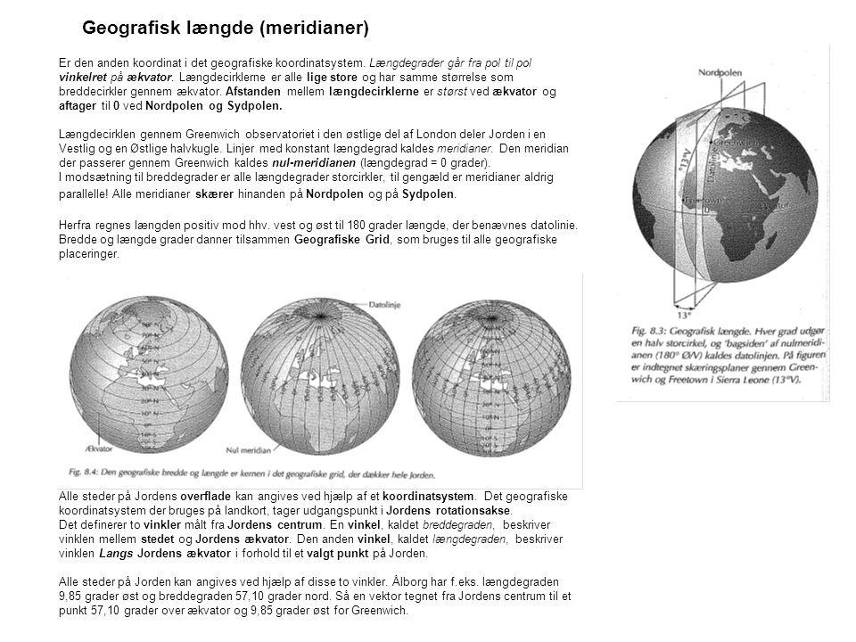 Geografisk længde (meridianer)