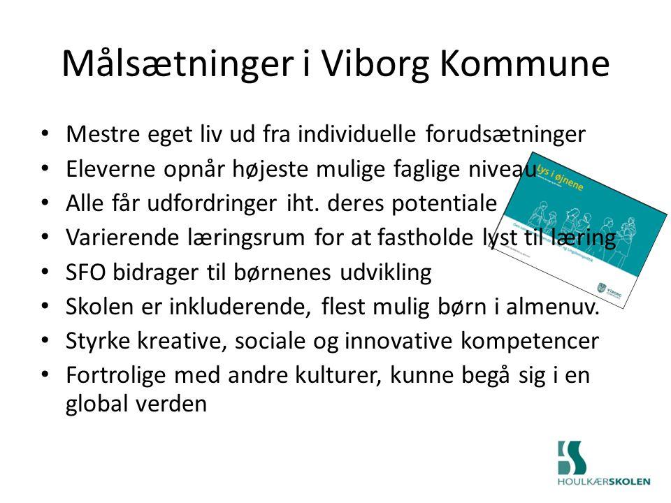 Målsætninger i Viborg Kommune