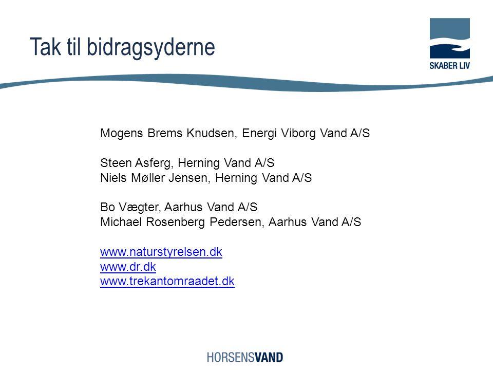 Tak til bidragsyderne Mogens Brems Knudsen, Energi Viborg Vand A/S