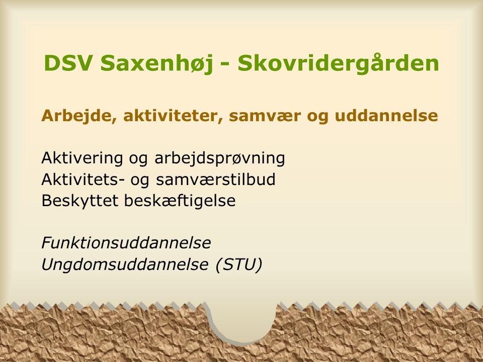 DSV Saxenhøj - Skovridergården