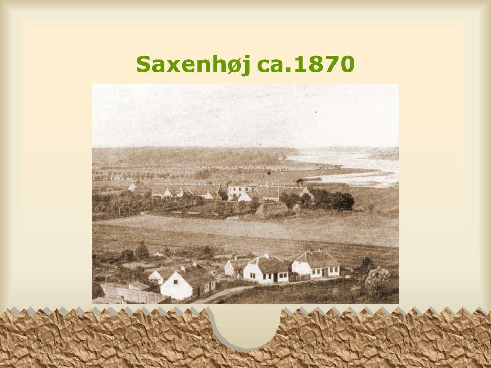Saxenhøj ca.1870