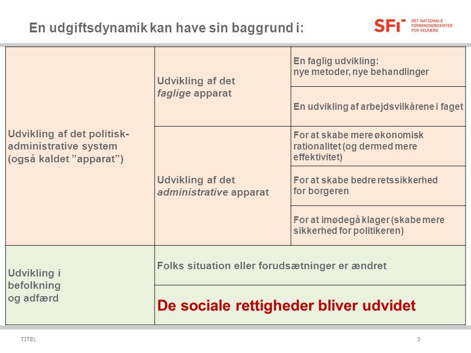 De sociale rettigheder bliver udvidet
