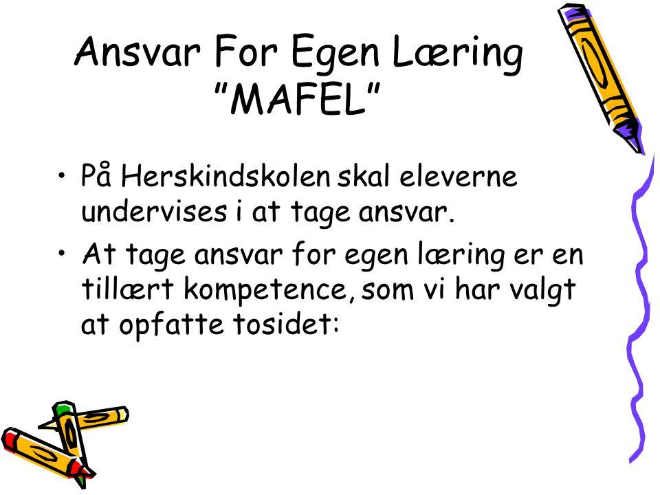 Ansvar For Egen Læring MAFEL