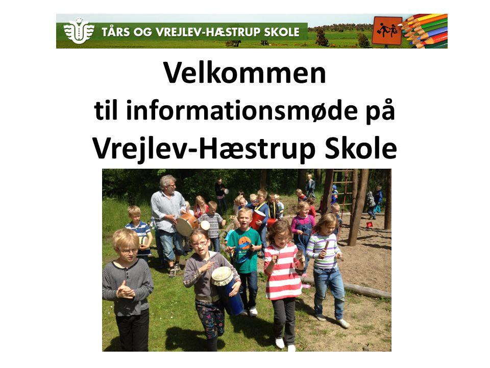 Velkommen til informationsmøde på Vrejlev-Hæstrup Skole