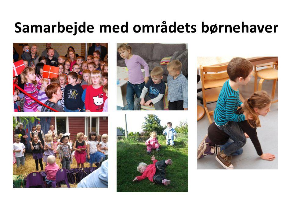 Samarbejde med områdets børnehaver