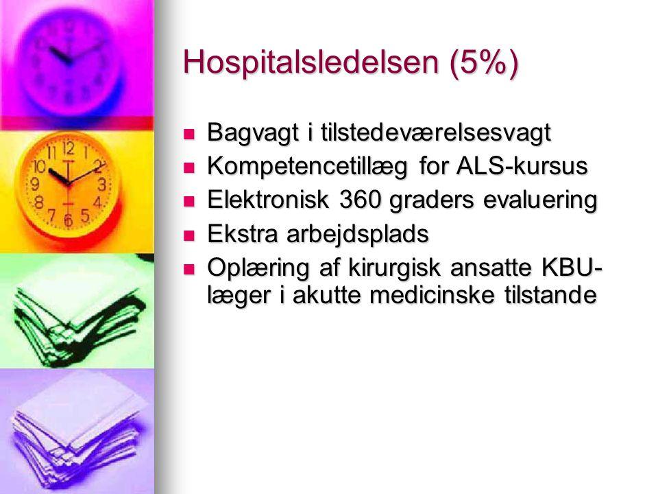 Hospitalsledelsen (5%)