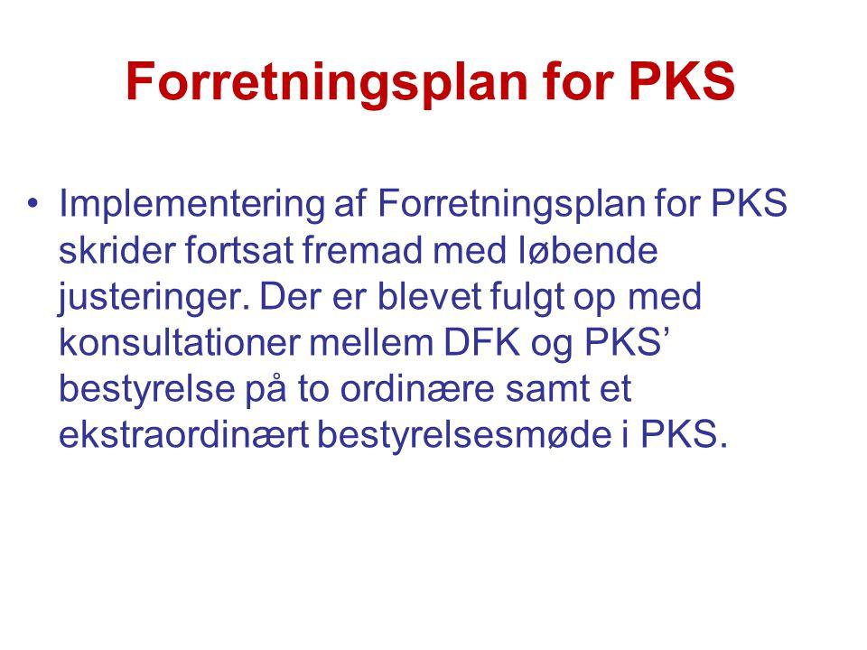 Forretningsplan for PKS