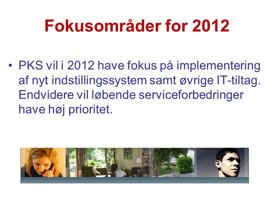 Fokusområder for 2012
