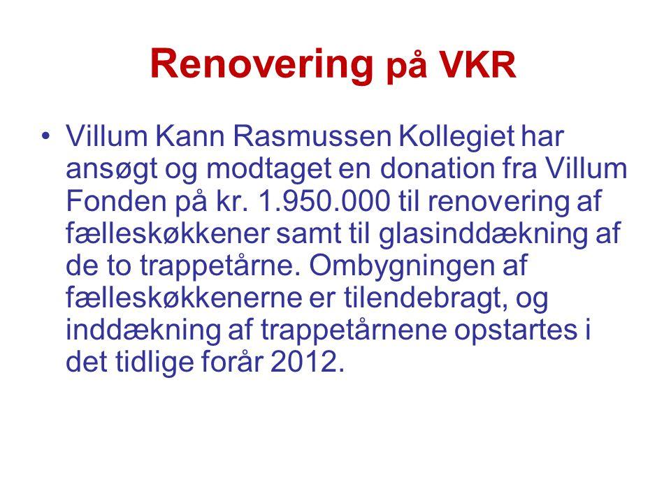 Renovering på VKR