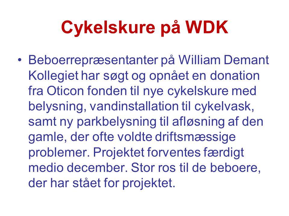 Cykelskure på WDK