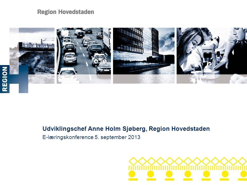 Udviklingschef Anne Holm Sjøberg, Region Hovedstaden
