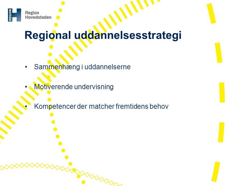 Regional uddannelsesstrategi