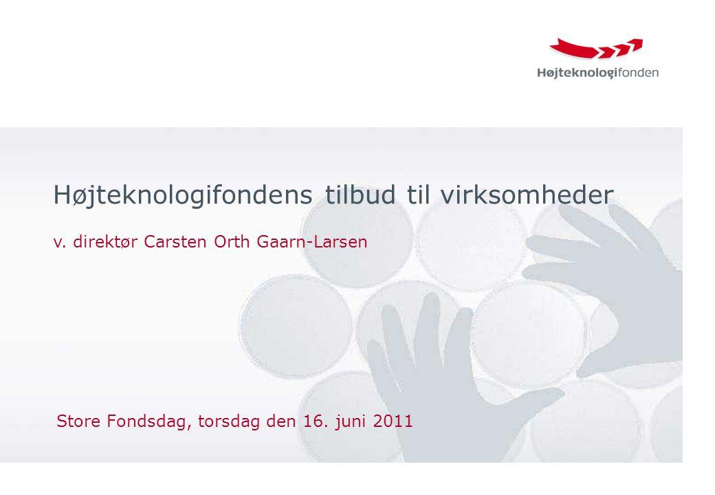 Store Fondsdag, torsdag den 16. juni 2011