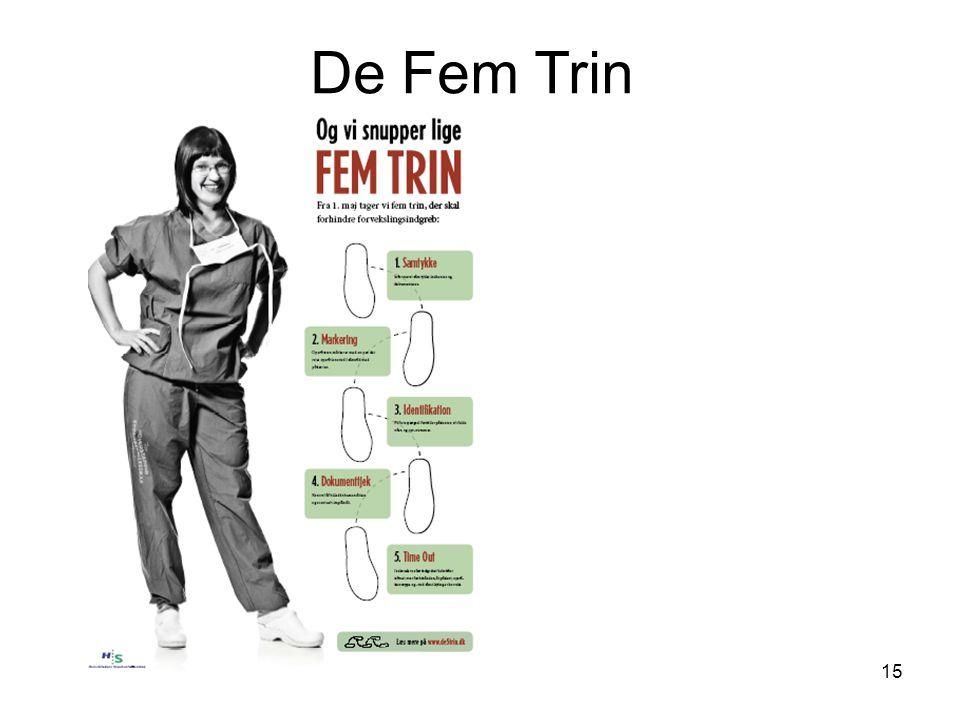 De Fem Trin