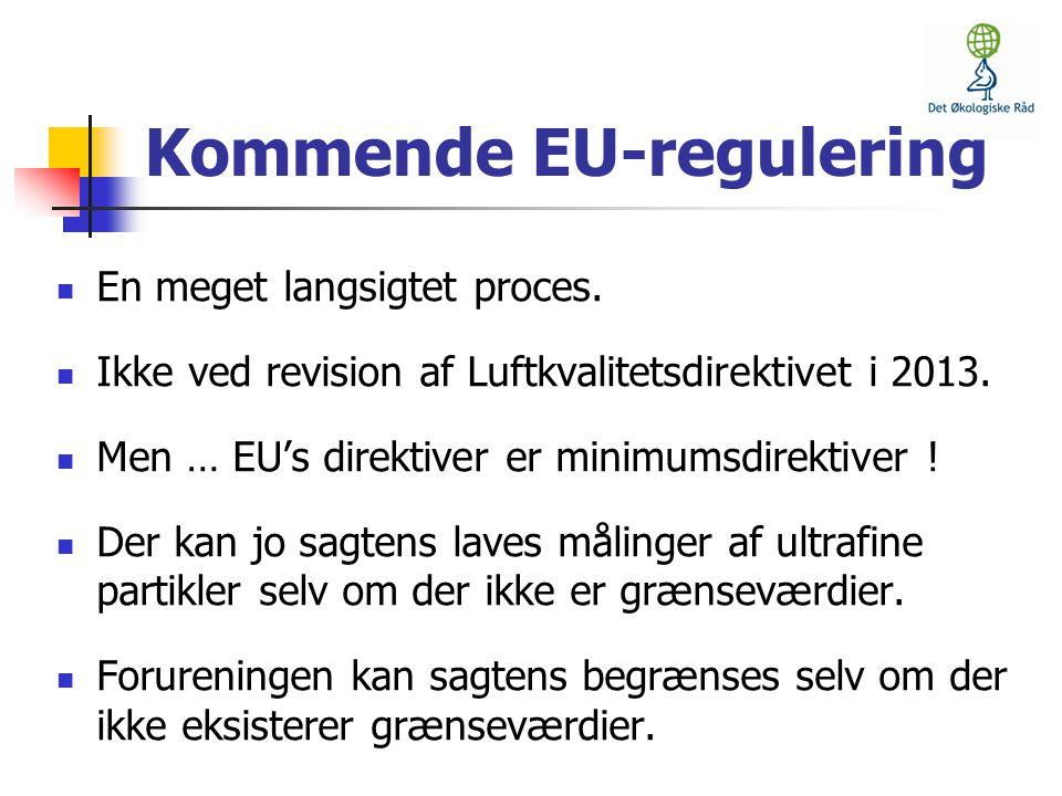 Kommende EU-regulering