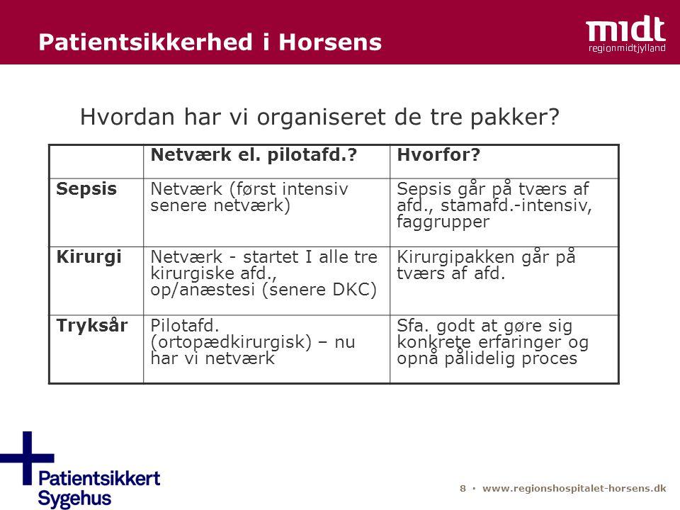 Patientsikkerhed i Horsens