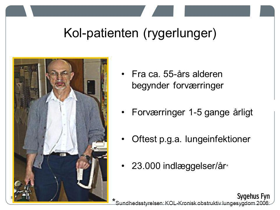 Kol-patienten (rygerlunger)