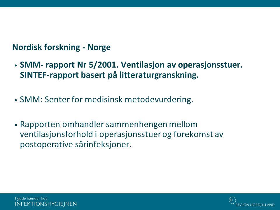 Nordisk forskning - Norge