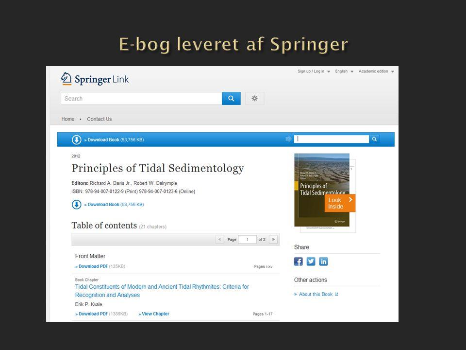 E-bog leveret af Springer