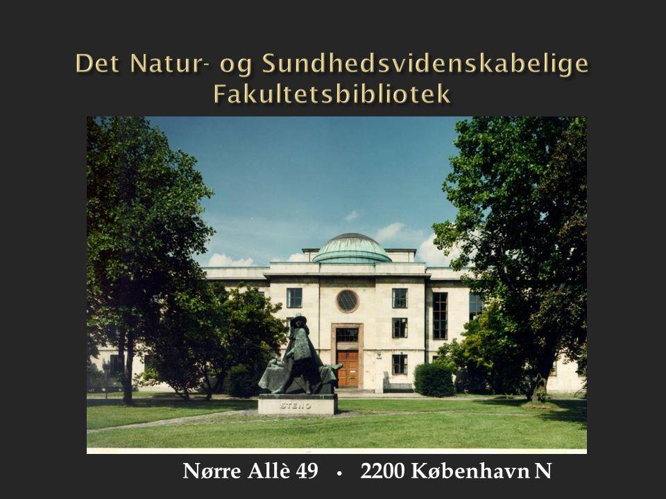 Det Natur- og Sundhedsvidenskabelige Fakultetsbibliotek