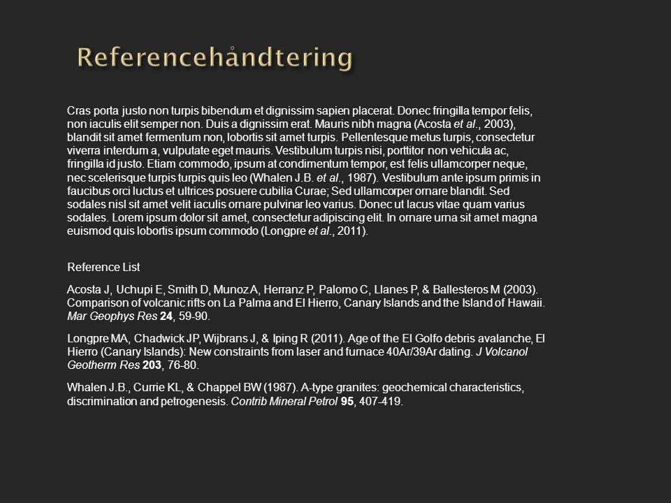 Referencehåndtering