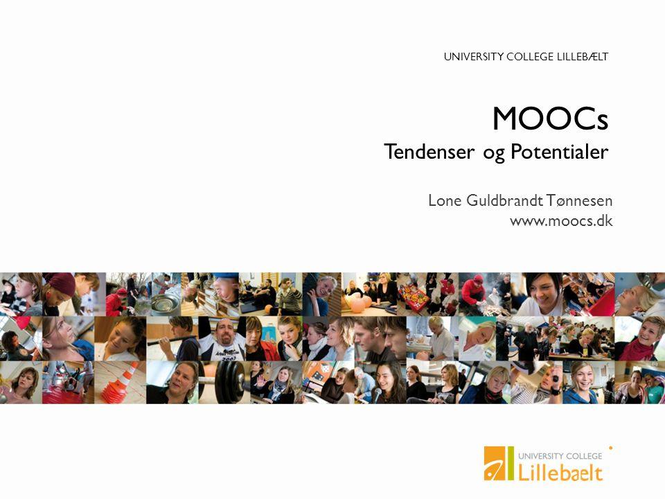 MOOCs Tendenser og Potentialer