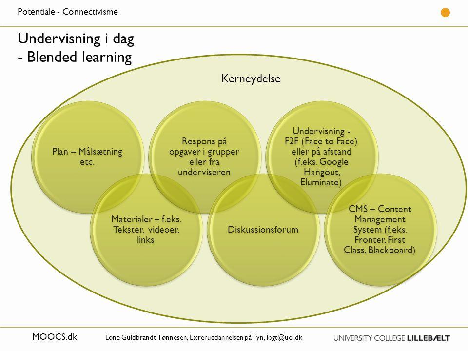 Undervisning i dag - Blended learning