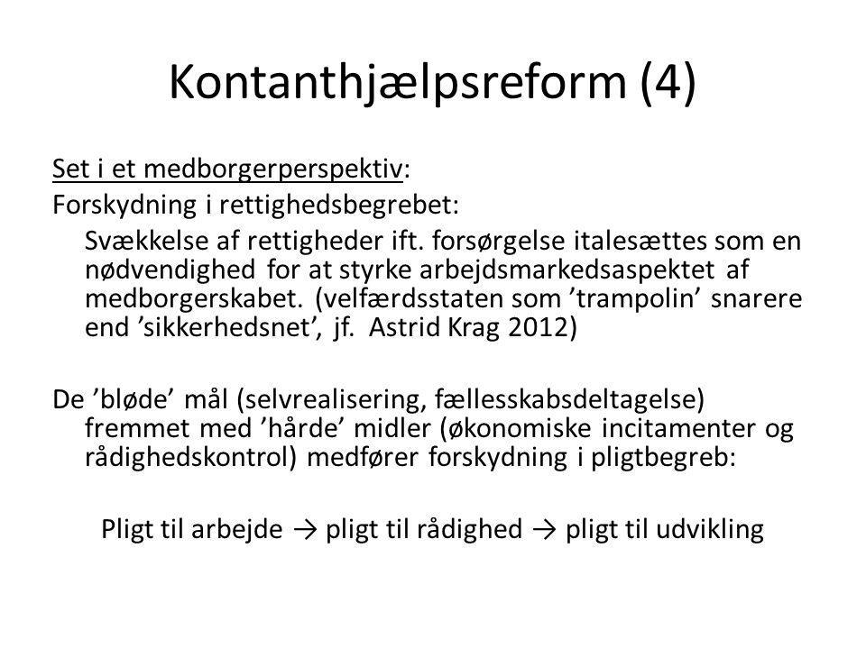 Kontanthjælpsreform (4)