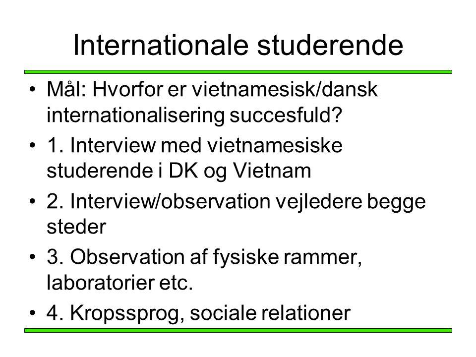 Internationale studerende