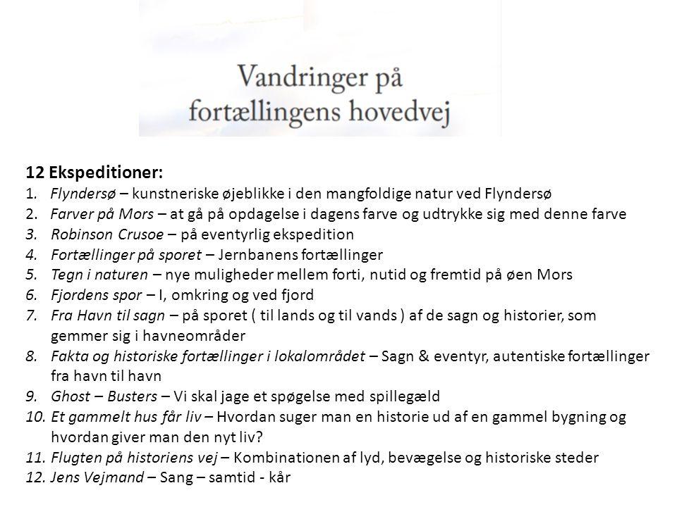 12 Ekspeditioner: 1. Flyndersø – kunstneriske øjeblikke i den mangfoldige natur ved Flyndersø.