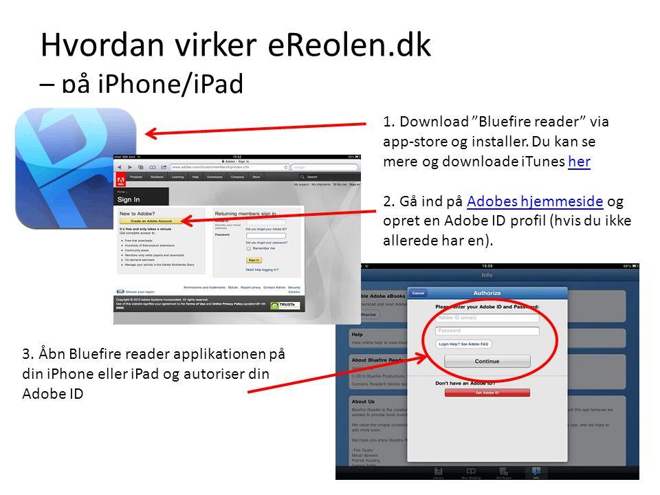 Hvordan virker eReolen.dk – på iPhone/iPad