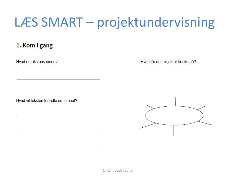 LÆS SMART – projektundervisning