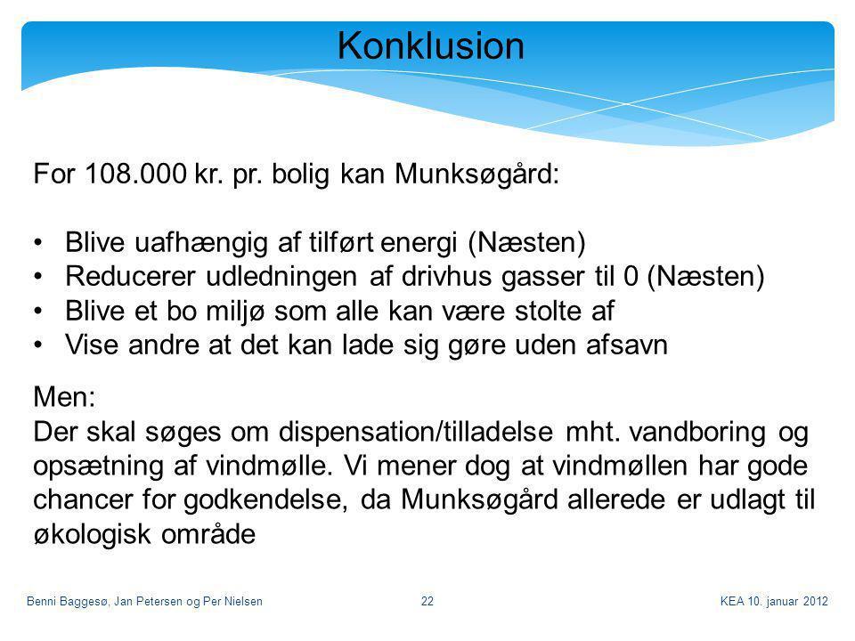 Konklusion For 108.000 kr. pr. bolig kan Munksøgård: