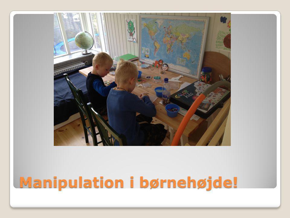 Manipulation i børnehøjde!