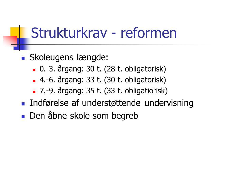 Strukturkrav - reformen