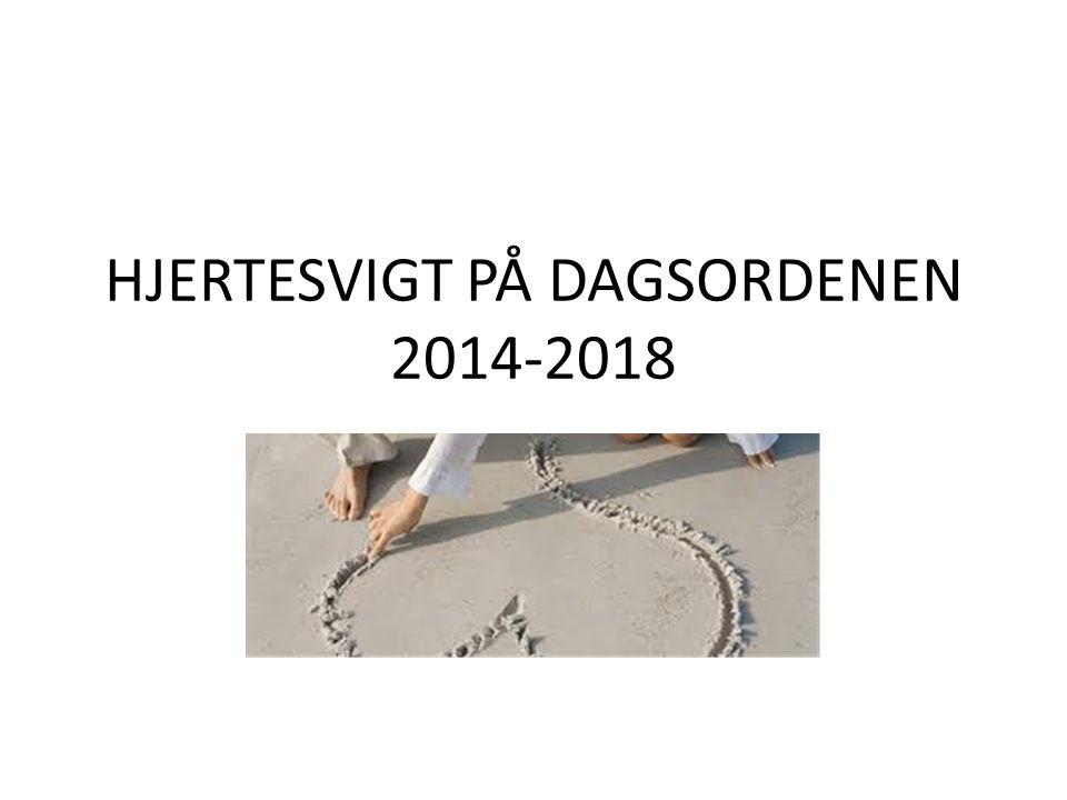 HJERTESVIGT PÅ DAGSORDENEN 2014-2018