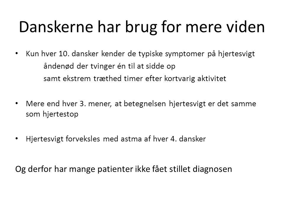 Danskerne har brug for mere viden