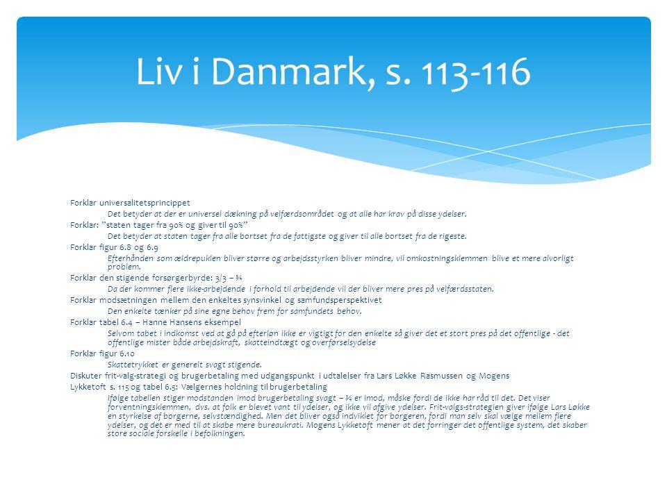 Liv i Danmark, s. 113-116
