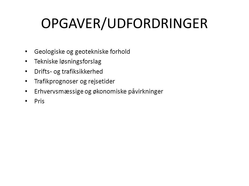 OPGAVER/UDFORDRINGER