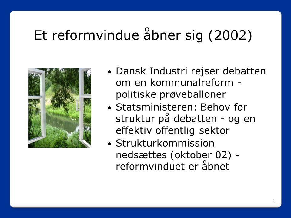 Et reformvindue åbner sig (2002)