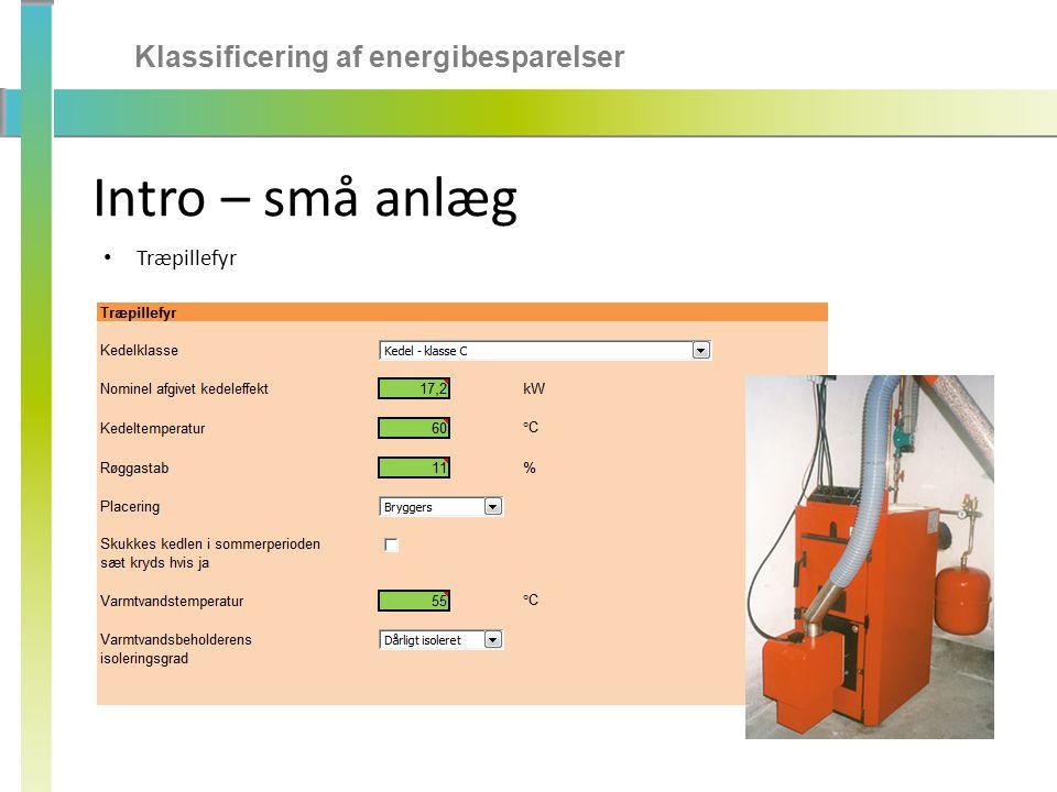 Klassificering af energibesparelser