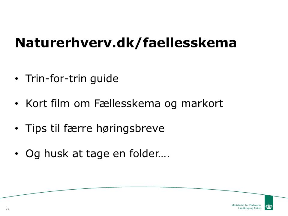 Naturerhverv.dk/faellesskema