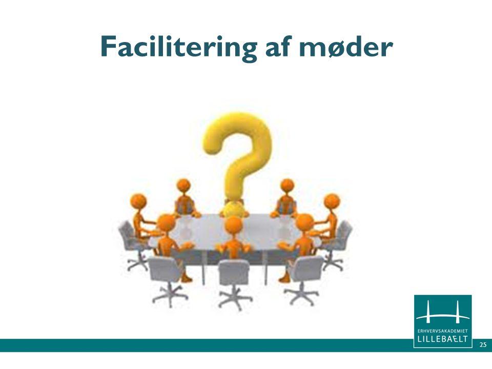 Facilitering af møder