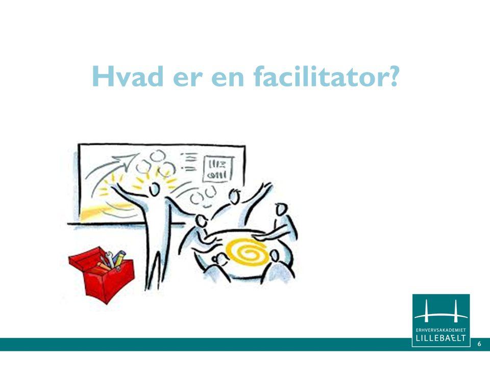 Hvad er en facilitator