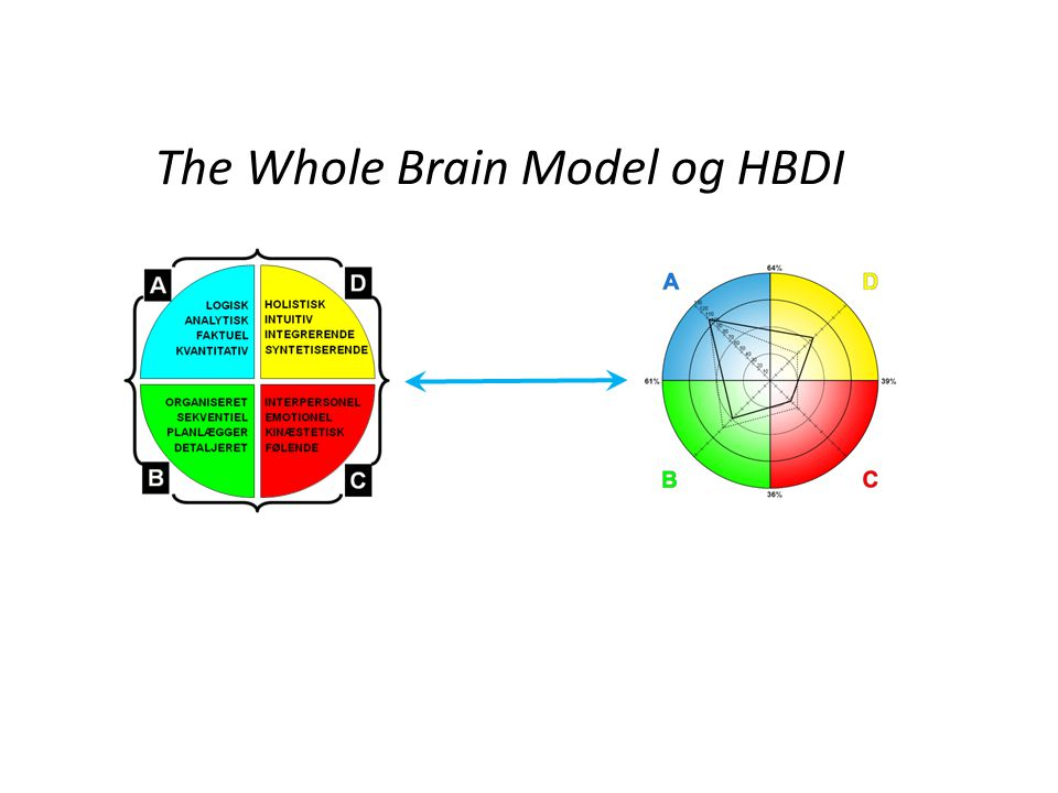 The Whole Brain Model og HBDI