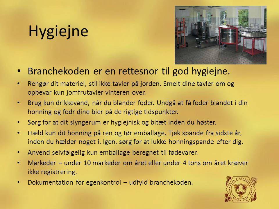 Hygiejne Branchekoden er en rettesnor til god hygiejne.