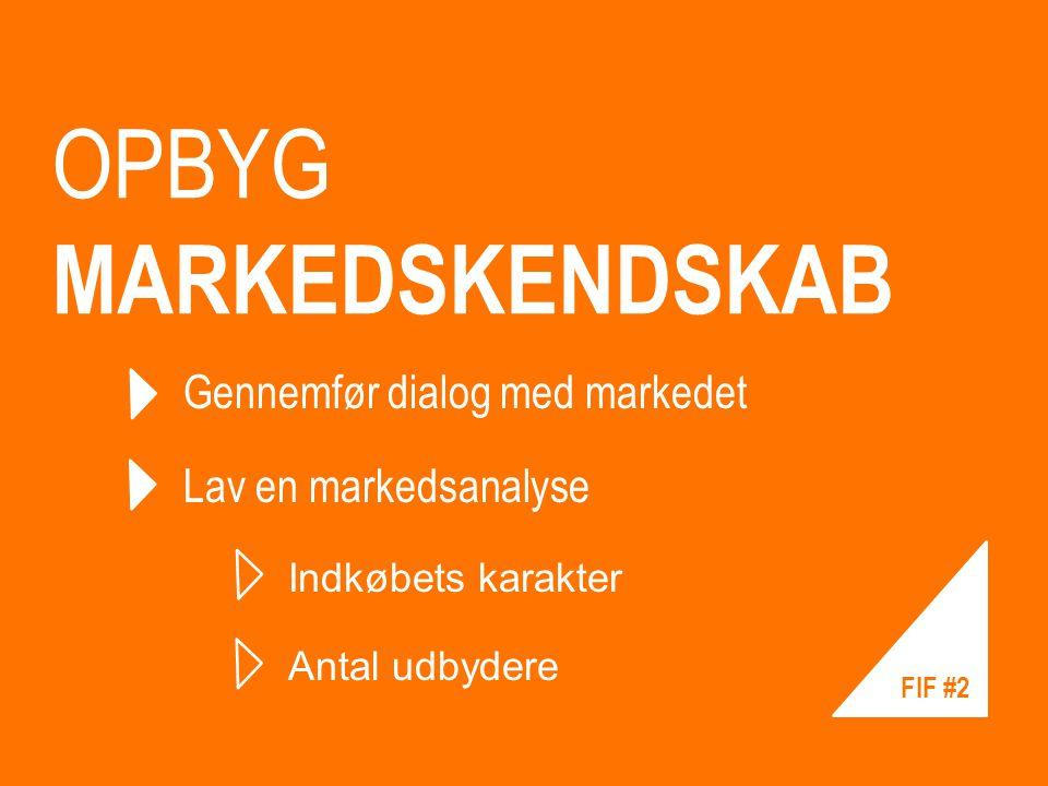 OPBYG MARKEDSKENDSKAB
