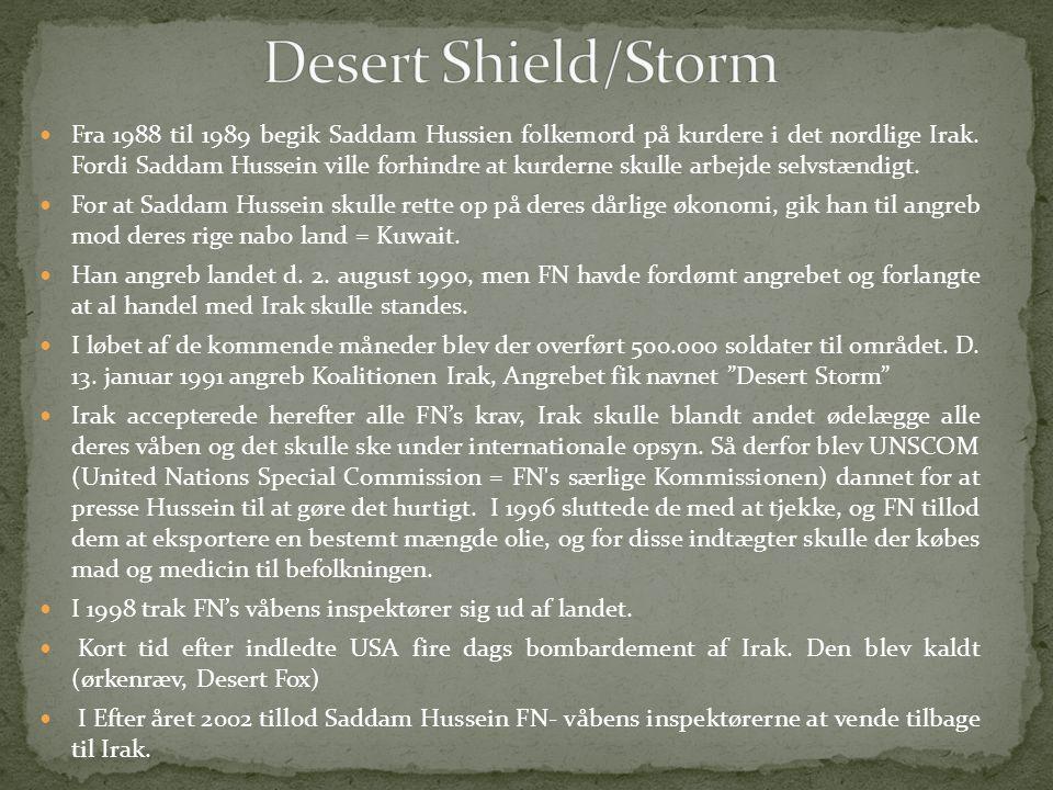 Desert Shield/Storm