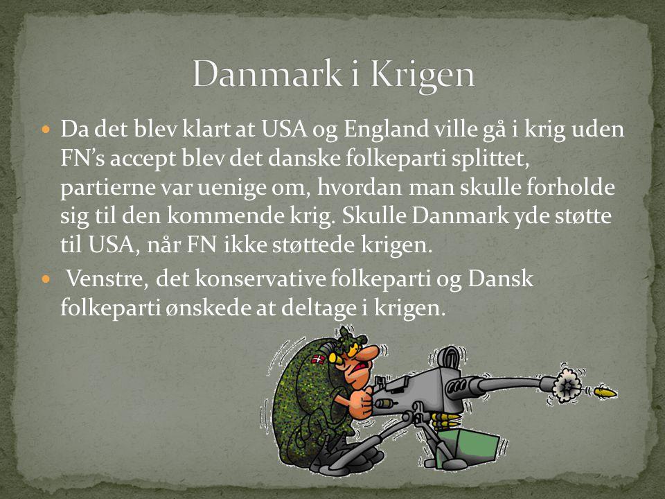 Danmark i Krigen