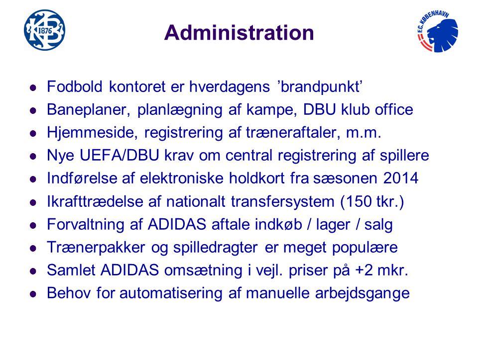 Administration Fodbold kontoret er hverdagens 'brandpunkt'